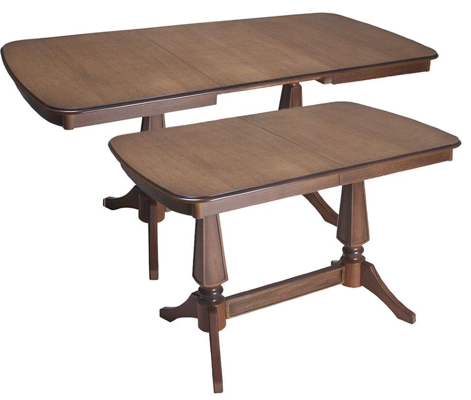"""Стол """"Арабис"""" Размер (ШхДхВ): 80х120(170)х75 см. Стиль: Классический Форма столешницы: Прямоугольная  Механизм раздвижения: Синхронный Масив бука 40 вариантов тонировки"""