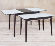 """Стол со стеклом """"Арека ПРС 1100*700"""""""