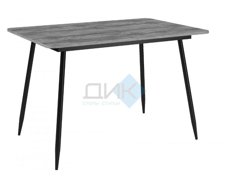 Стол Dikline L122 Дуб Бардолино серый/Опоры черный