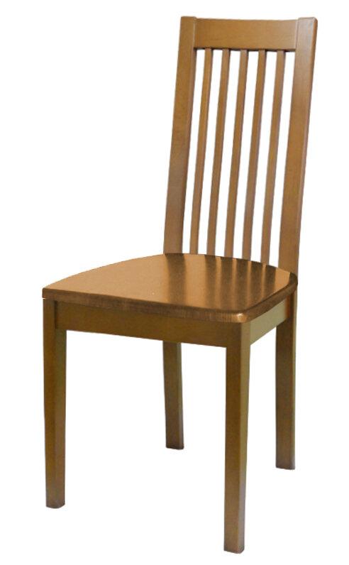 """Стул """"Аттака"""" (жесткиое сиденье) Размер (ШхГхВ):43х46х103 см. Особенности: Жесткое сиденье,Жесткая спинка, Из массива Стиль: Модерн Цвета: 40 вариантов тонировки Срок изготовления: 15 раб. дней"""