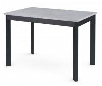 Стол Dikline L110 Бетон / Опоры графит
