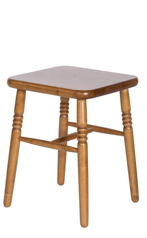 Табурет «Классика» Размер (ШхГхВ):35x35x45 см. Особенности: Жесткое сиденье; Резные ножки; Из массива Цвета: Венге, Орех, Темный орех, Махагон, Белый (эмаль) Стиль: Классический / Кантри  Фабрика «ЭкоМебель»